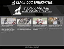 Tablet Preview of blackdogenterprises.org